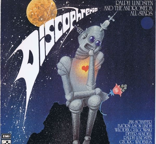 Ralph Lundsten And The Andromeda All Stars - Discophrenia (Electronic, Funk, Soul, Disco) - LP album - 1978/1978