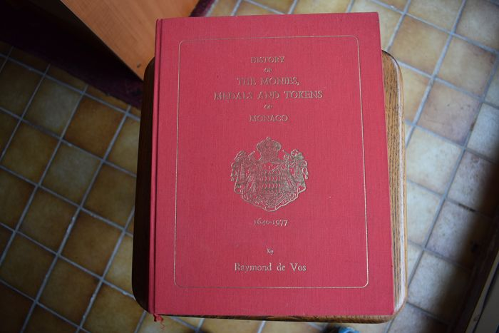 literature. History of the Monies, Medals and Tokens of Monaco 1640-1977