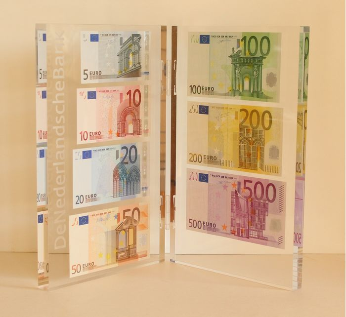 European Union - Netherlands - Limited edition presentation set Dutch Central Bank - 5 to 500 euro banknotes 2017