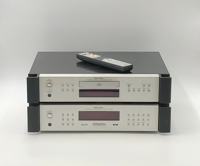 Rotel - RCD-1072 + RC-1082 - CD Player, Tuner