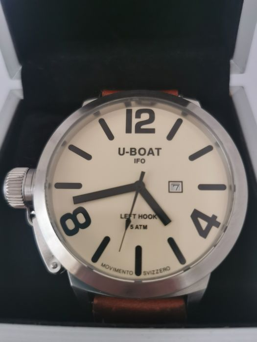 U-Boat - IFO-Classico-Left Hook-limited Edition - B53-08 - Hombre - 2000 - 2010