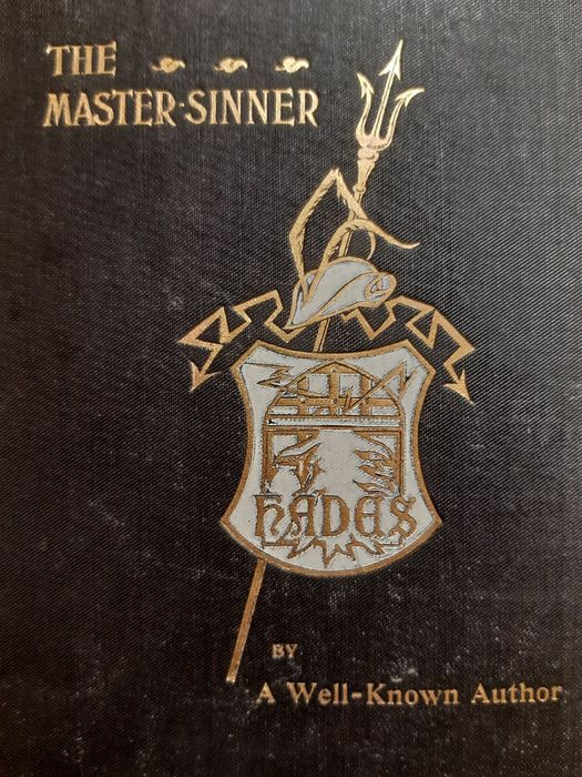 Anonymous [Herbert Vivian] - The Master Sinner. A Romance by a Well-Known Author - 1901