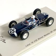 Lotus - Formula One - Stirling Moss - 1961 - 1/43 Scale modelcar