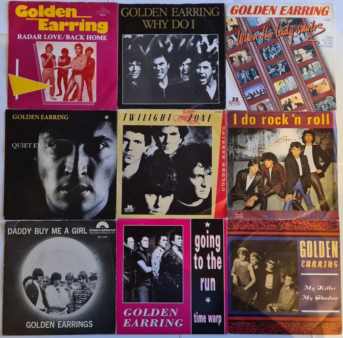 Golden Earring - Diverse titels - 45-toerenplaat (Single) - 1966/1991