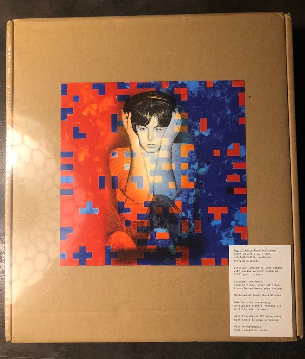 Paul McCartney - Tug of War - Super Deluxe Acrylic Slipcase Numbered Edition 0654/1000 - Beperkte oplage, CD Boxset, DVD Boxset, DVD Limited Boxset, Gelimiteerde boxset - 2015/2015