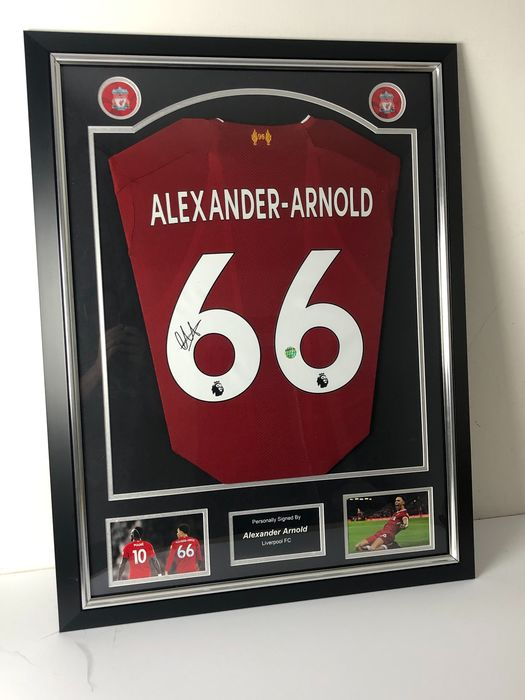 Liverpool - Europese voetbal competitie - Trent Alexander-Arnold - Jersey(s)