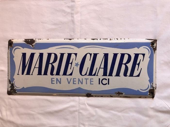 Marie Claire - Bord - Emaille