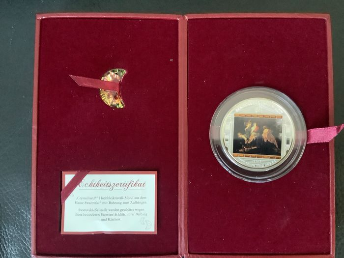 Cookeilanden. 20 Dollars 2012 Proof Masterpieces of art Vlucht naar Egypte by Rubens - 3 oz