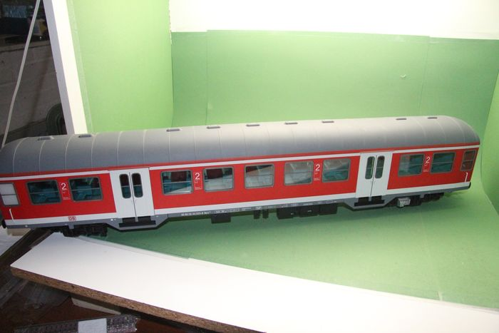 Piko G - 37624 - Passenger carriage - Wagon type Bnrz 436, with LED lighting - DB Regio