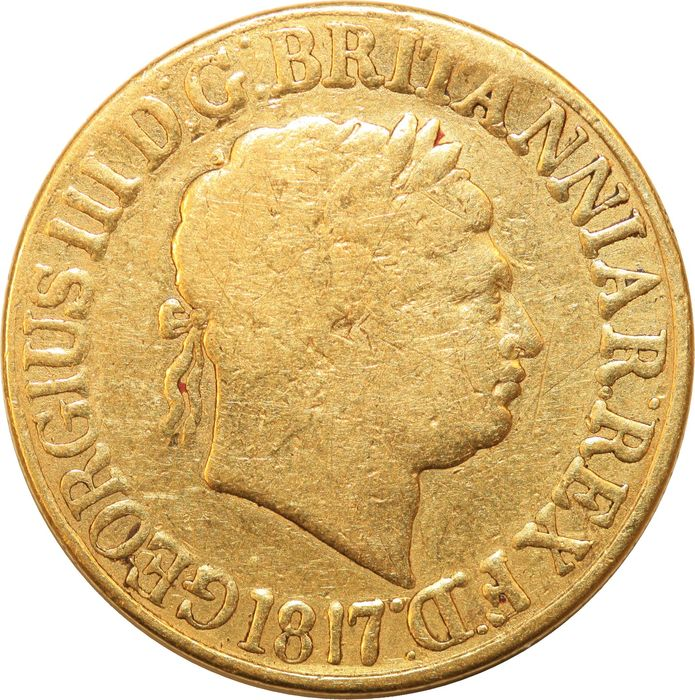 Great Britain. Sovereign 1817 George III