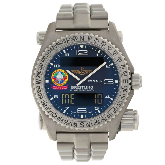 Breitling - Emergency Orbiter 3, Limited Edition 1315/1999, - Ref. E56321 - Hombre - 2000 - 2010