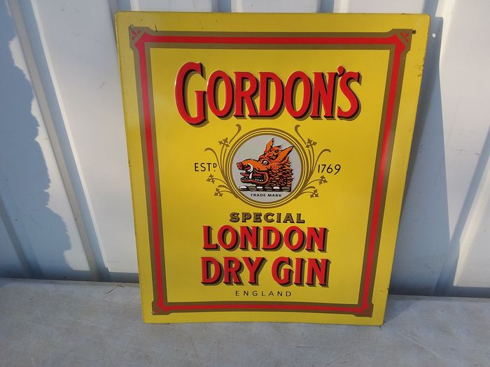 Reclamebord Gordon's - Blik