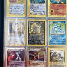 Nintendo Great Vintage Collection with mant Rare Holos - Pokémon - Trading card BIG Rare Collection including 72 Holo's and loads of rare cards.