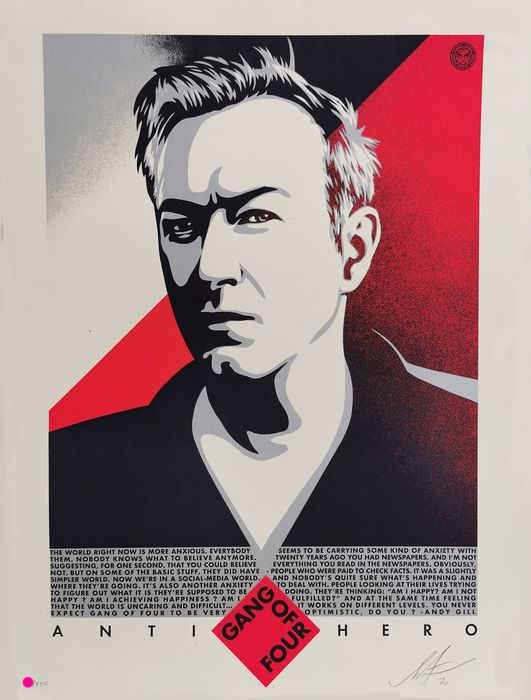 Shepard Fairey (OBEY) - Gang of Four