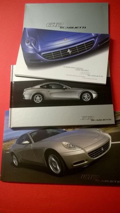 Brochures/catalogi - Ferrari 612 Scaglietti First Official Pictures 2004 - Ferrari - Na 2000