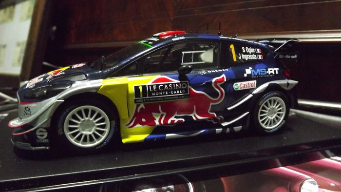 WRC Collection - 1:24 - 10 varie marche di modelli Rally
