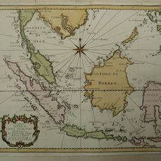 Indonesien, Java, Sumatra, Borneo; N. Bellin - Carta dell'Isole di Giava Sumatra Borneo etc. - 1751-1760