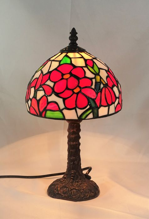 Tiffany Style - Tiffany Style Lamp - Glass (stained glass)