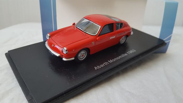 Neo Scale Models - 1:43 - Fiat Abarth 1000 GT Monomille 1963, - NEO44605,