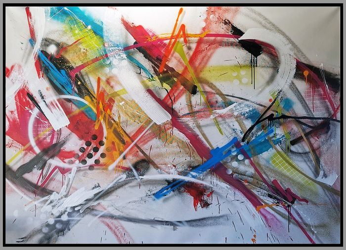 """David """"Nasher"""" - Abstraction - """"Résilience 09"""""""