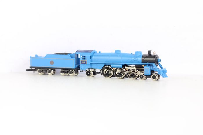 Märklin Z - 8810 - Stoomlocomotief met tender - Mikado - 4-6-2 - New Jersey Central