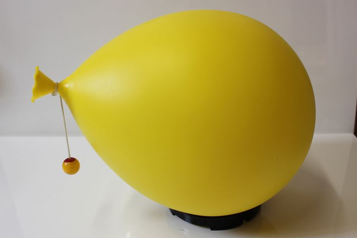Yves Christin - Bilumen - Wall, table or ceiling lamp - Yellow Balloon
