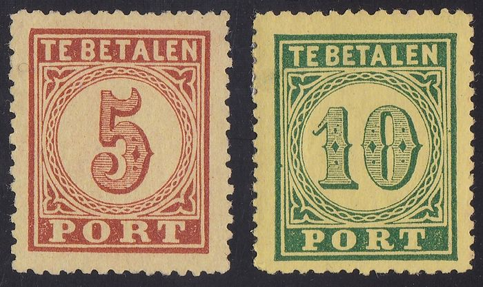 Lot 43681947 - Dutch Stamps  -  Catawiki B.V. Weekly auction - Note the closing date of each lot