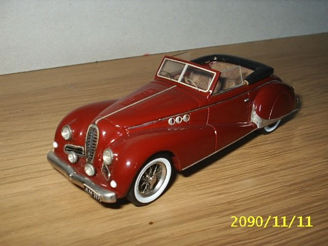 Ma Collection - 1:43 - Delahaye 135 MS
