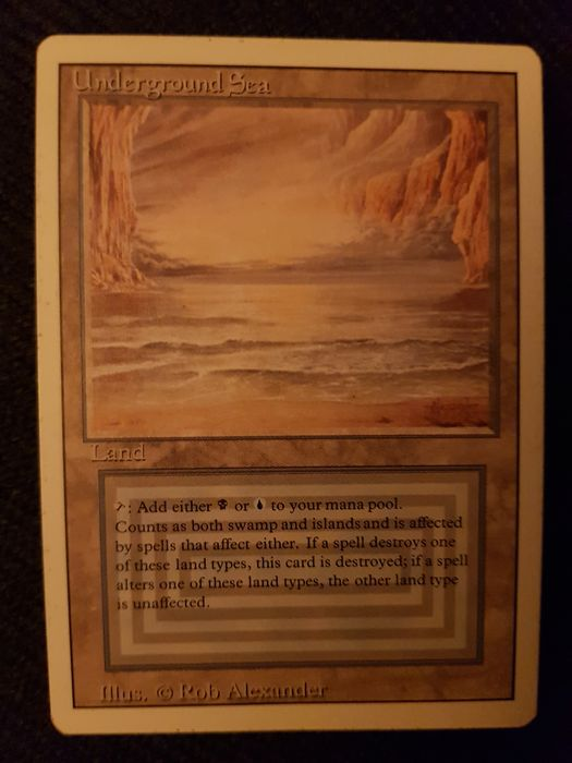 Wizards of the Coast - Magic: The Gathering - Trading card Underground Sea / Revised - 1994