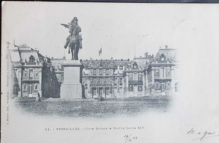 France - Versailles, very old - Postcards (Collection of 40) - 1900-1910
