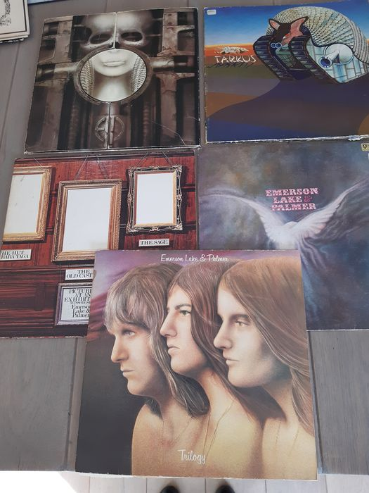 Emerson, Lake & Palmer - Pictures at an exhibition - LP's - 1970/1976