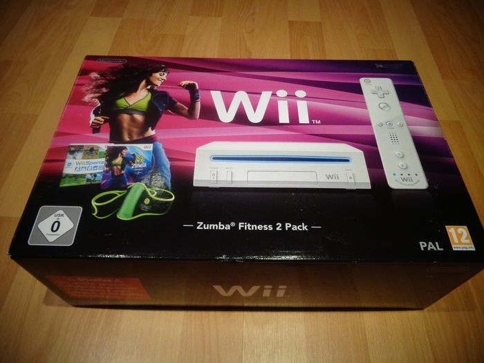 """Nintendo Wii - """"Zumba Fitness 2 Pack"""" Fully Complete and very Rare - Nella scatola originale"""