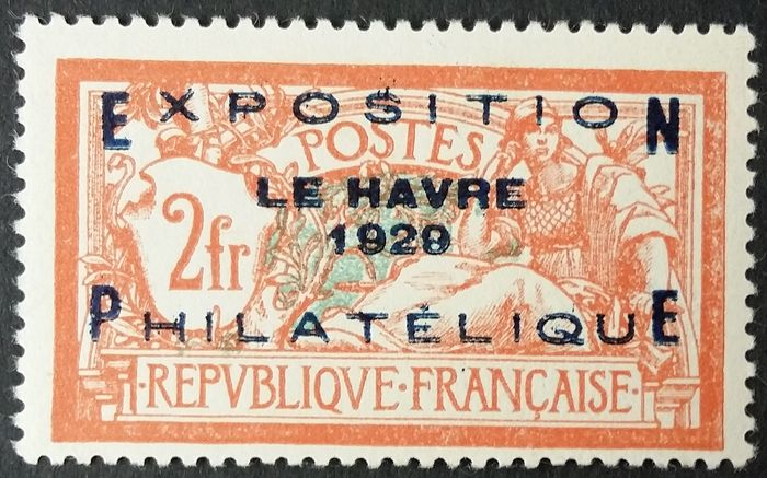France 1929 - Philatelic exhibition of Le Havre. - Yvert 257A