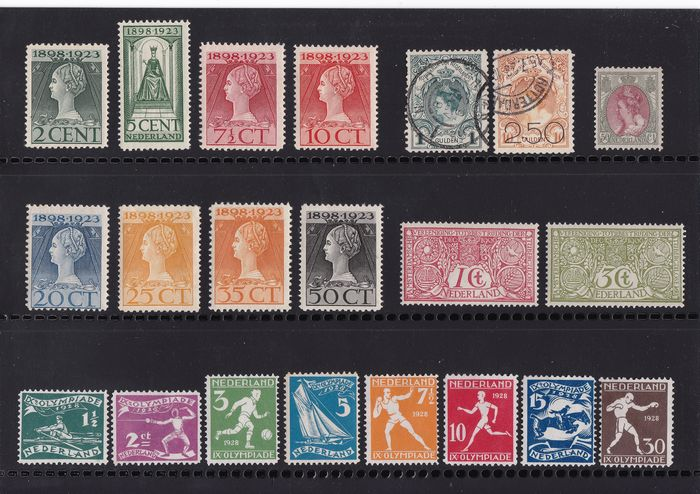 Netherlands 1876/1933 - Small batch of mainly 2nd choice stamps