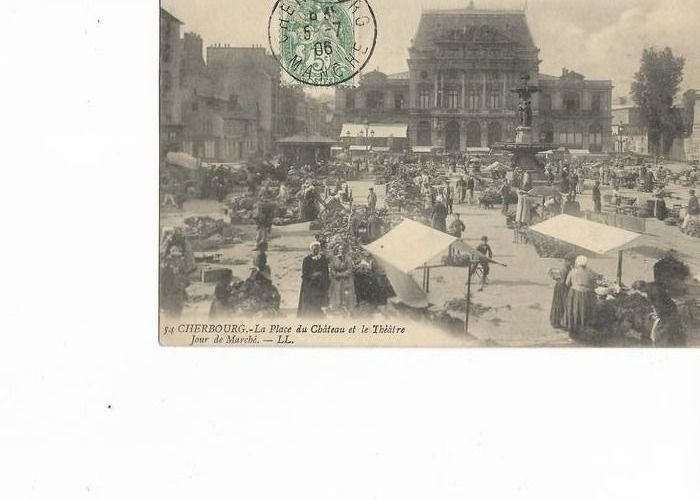 France - Markets theme - Postcards (Collection of 26) - 1906-1918