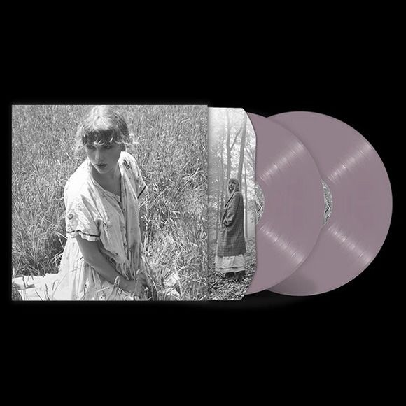 Taylor Swift - Folklore - [No.4 'Betty's Garden' Edition - LAVENDER/PINK coloured Vinyl] - 2xLP Album (double album) - 2020/2020