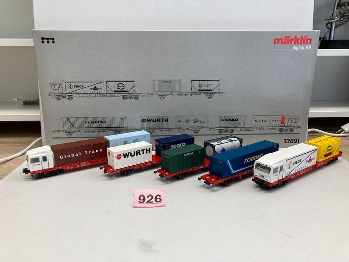 Märklin H0 - 37091 - Train set - 5-piece train set: BR Sggoorrss 700 - Cargo-Sprinter - DB