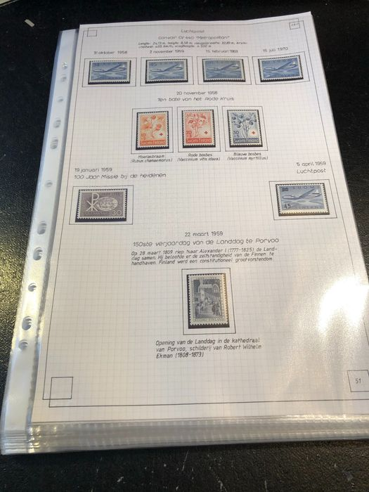 Finland 1958/1984 - Mint collection - Yvert