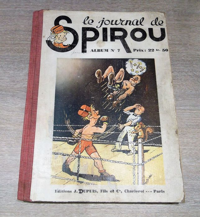 Journal Spirou - Reliure éditeur N°7 - C - First edition - (1940/1941)