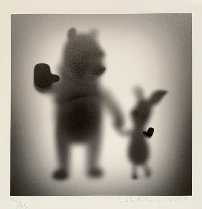 """Whatshisname (1982) - """"Gone Bear and a Dog"""" (Gone Winnie the Pooh and Piglet) inclusief lijst"""