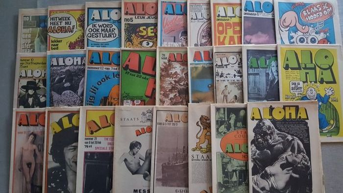 Aloha - Multiple artists - Complete first year 9-5-1969 / 1-5-1970 - Multiple titles - Magazine - 1969/1970