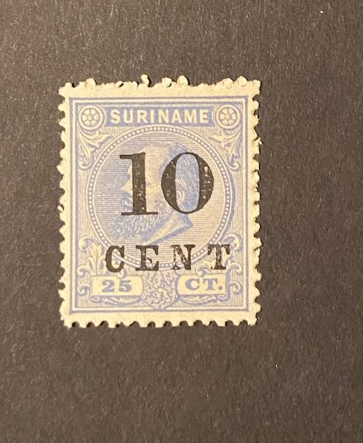 Suriname 1898 - Aid issue - NVPH 32a