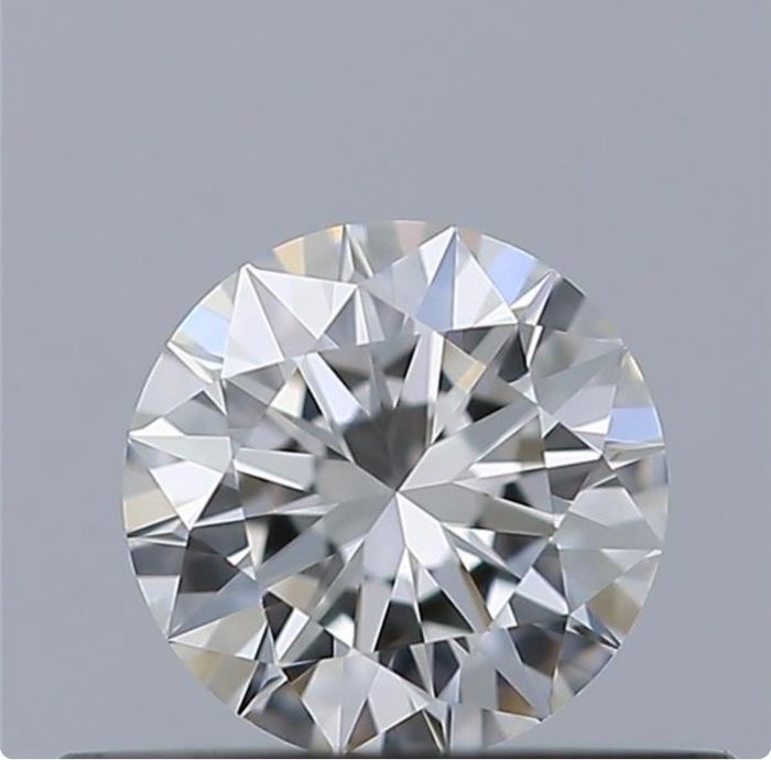 1 pcs Diamante - 0.30 ct - Brillante - D (incoloro) - IF (Inmaculado), *3Ex*