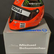 Mercedes-Benz - Formula One - Michael Schumacher - 2011 - 1/2 scale helmet