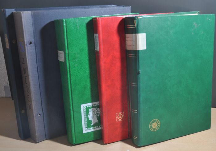 Skandinavien - Batch in various stock books and albums with, amongst others, Norway and Sweden
