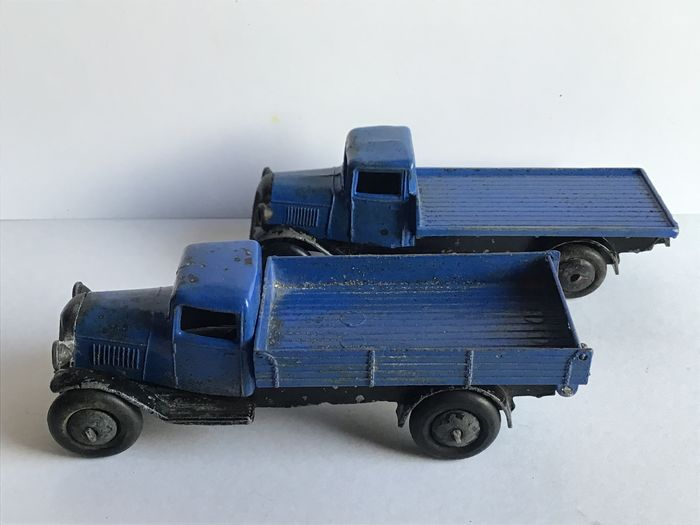 Dinky Toys - 1:48 - No25a et 25e camions - Vooroorlogse