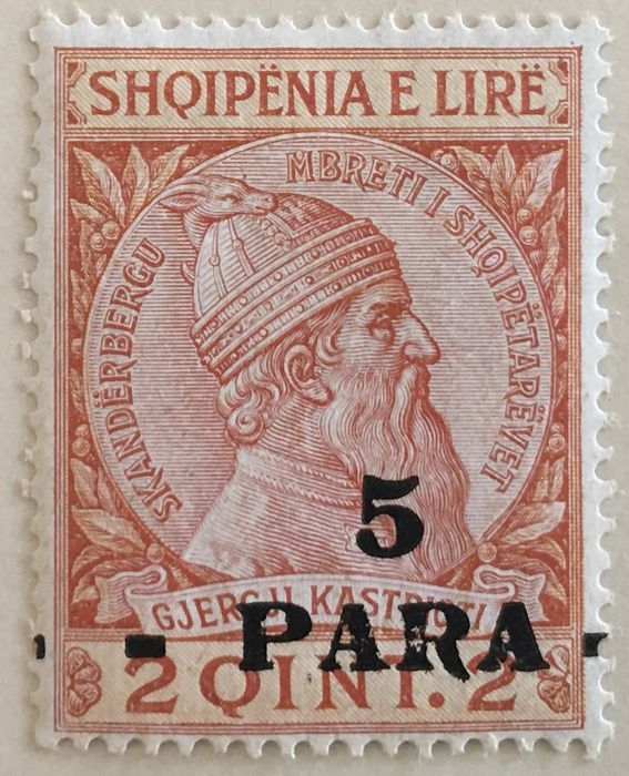 European countries - Old collections of stamps