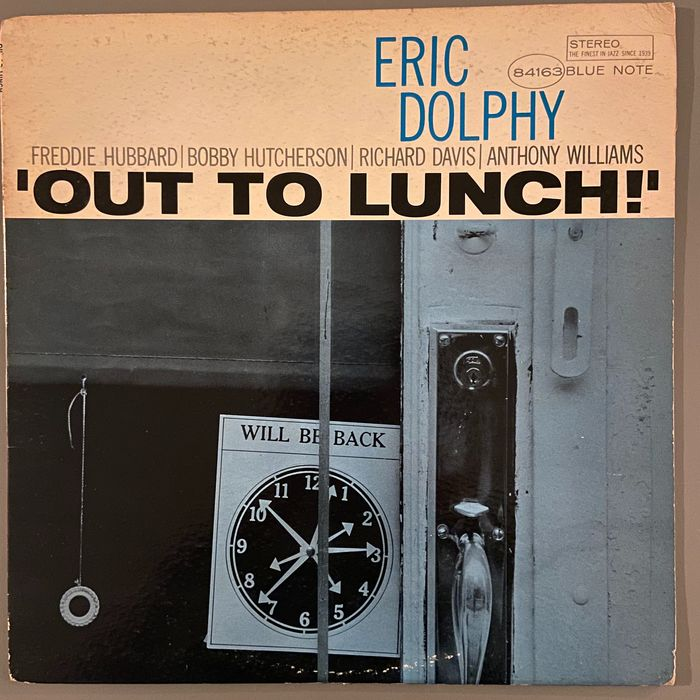 Eric Dolphy - Out Of Lunch - LP Album - 1964/1964