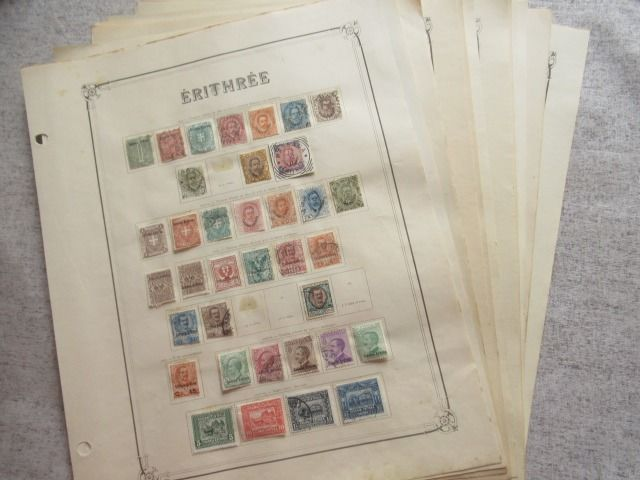 Eritrea - Advanced collection of stamps
