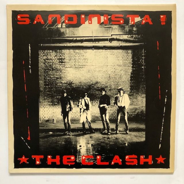 The Clash - Sandinista - 3x LP Album (Dreifachalbum) - 1980